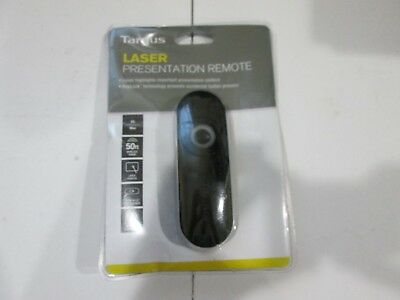 Targus Wireless Laser Presentation Remote with KeyLock, 2.4GHz, AMP13US NEW