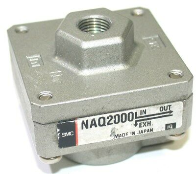 "Smc 1/4"" Npt Quick Exhaust Valve Naq2000 - 3 Available"