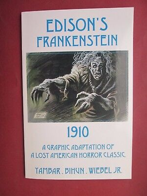 Edison's Frankenstein 1910 Limited Edition 66 /100 Signed Yambar Wiebel Bihun