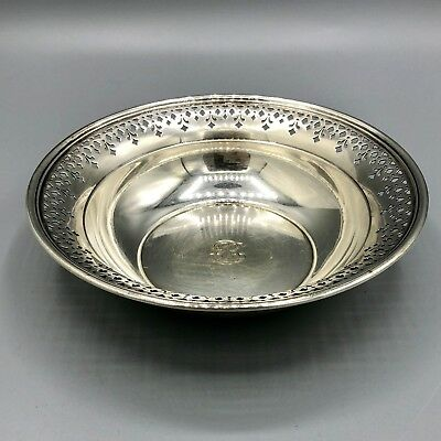 Antique Tiffany Sterling Wine Coaster Bowl 220gm