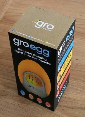 Brand new boxed gro-egg room thermometer