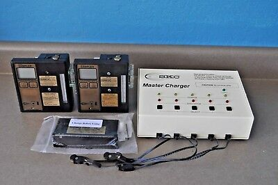 SKC Airchek air Sampler # 224-PCR4M  2 x Pumps ,1 New battery , charger