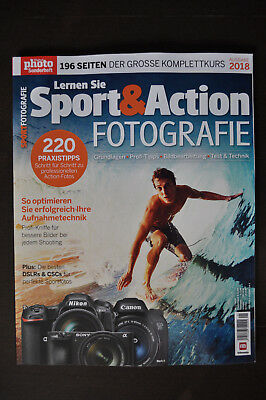 Digital photo Sonderheft 2018 - Lernen Sie Sport & Action FOTOGRAFIE