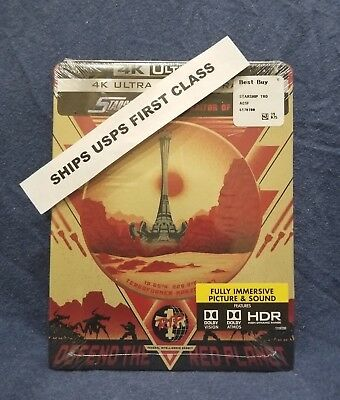 NEW! SEALED! Starship Troopers Traitor of Mars Blu Ray Steelbook Steel Book Case
