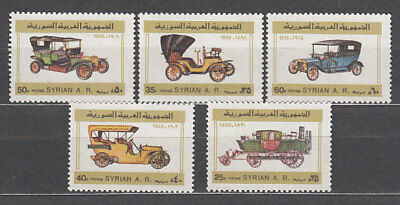 Syria - Mail Yvert 611/5 Mnh Cars