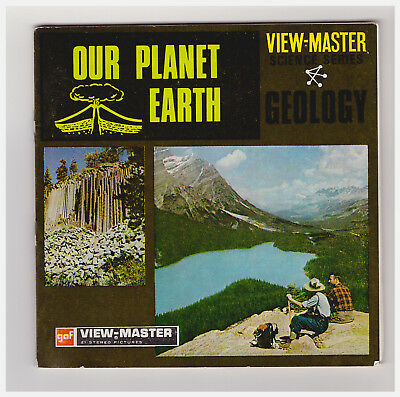 View Master  Our Planet Earth   Serie Scienze  Geology   B 675  In Inglese