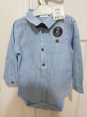 baby boy next shirt top 12-18 months