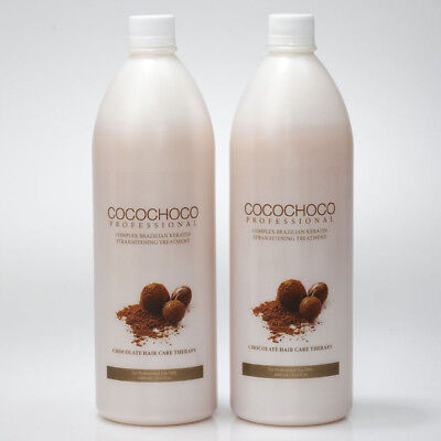 COCOCHOCO Original Brazilian Keratin Hair Treatment 2x 1000 ml | Official seller