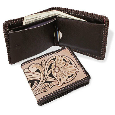 Deluxe Billfold w/Pass Case Brown (4049-02)