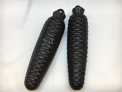 German Black Forest Cuckoo weights 1260 grams Set of 2 Old Used