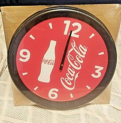 """New~ 18"""" Coca-Cola Clock~ Battery Operated"""