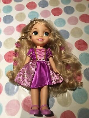 Disney Princess Hair Glow Rapunzel Doll Sings Light Up Tangled Song