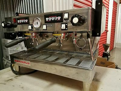 Commercial Espresso Machine La Marzocco Linea 2 Group Barely Used
