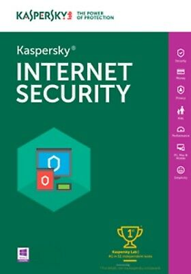 Kaspersky Internet Security 2018 AUSTRALIA KEY 1PC 1YEAR INSTANT BY EMAIL