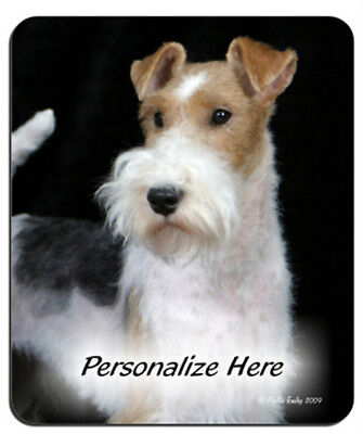 Wire  Fox  Terrier  ( 2 )    Personalized  Mouse Pad