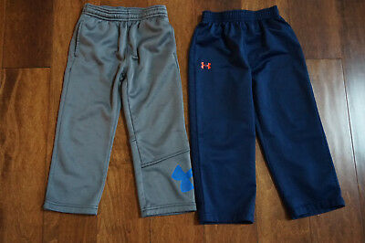 Toddler Boys Under Armour Pants 3T 2 Pairs