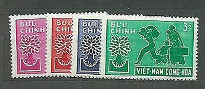 Viet nam South - Mail Yvert 134/7 Mnh