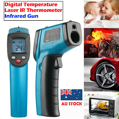 IR Infrared Laser Thermometer Temperature Measurer Gun Wireless Temp Tester Best