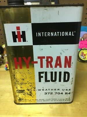 International Harvester IH Hy-Tran Gallon Oil Can