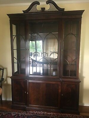 STICKLEY Inlaid Mahogany Dining Set