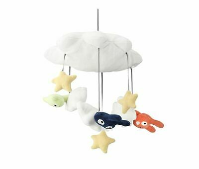 IKEA Mobile Toy Stuffed Animal Baby & Kids Soft Toy Multicolors HIMMELSK  NEW