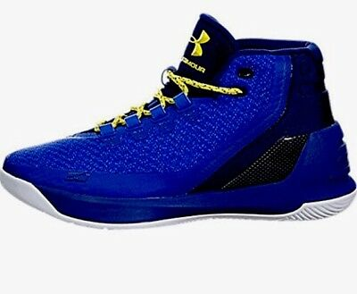 super popular 89a40 97639 MEN UA UNDER Armour Curry 3 ZERO SC30 Basketball Shoes Royal Blue  1269279-400