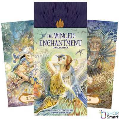 The Winged Enchantment Oracle Cards Deck Esoteric Telling Us Games Systems New