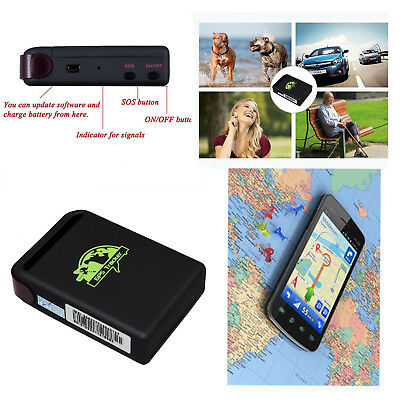 TK102 Real Time GPS Tracker GSM GPRS System Mini Spy Vehicle Tracking Device