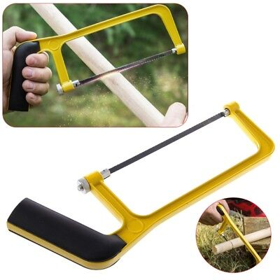 Adjustable 6 Inch Hacksaw Saw with Aluminum Alloy Frame