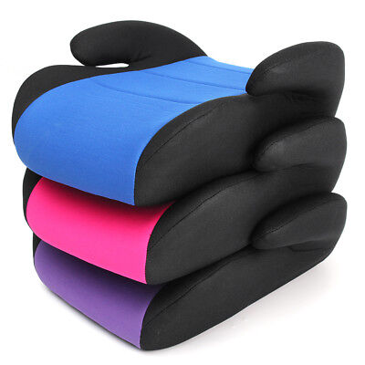 Backless Booster Car Seat Child Kid Toddler Youth Safety Travel Vehicle Chair VR
