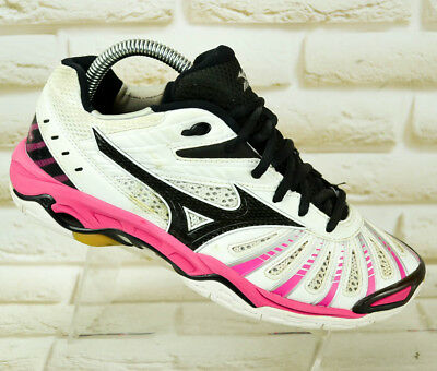 MIZUNO WAVE STEALTH 2 Womens Sport Indoor Trainers Court Shoes Size 5 UK 38 EU