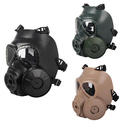 M04 Gas Mask Militarymask Mask Face Mask Green Mud Color Outdoor Airsoft Cs