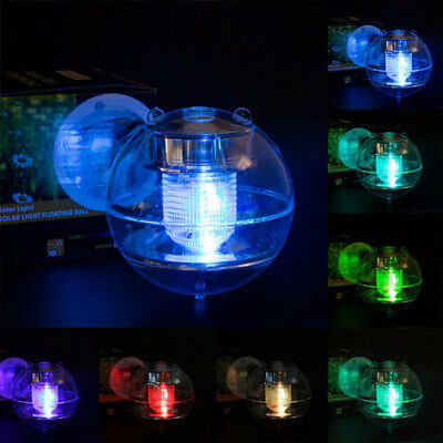 Floating Light Durable Hard-Working Romantic RGB LED Solar Energy Path Way Home