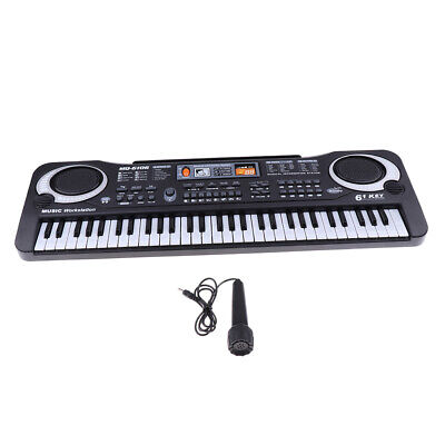 Electronic 61 Keys Digital Music Organ Piano Keyboard Kids Toy B-day Gift