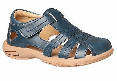 Grosby Fitz Boys Closed Toe Comfortable Sandals Lightweight/Cushioned