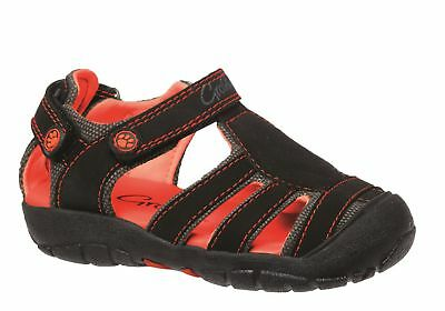Grosby Pirate Infant/Toddler Boys Closed Toe Sandals Adjustable/Comfortable