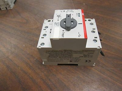 ABB Manual Motor Starter MS 325 Range: 1.0-1.6A w/ Aux Contact New Takeout