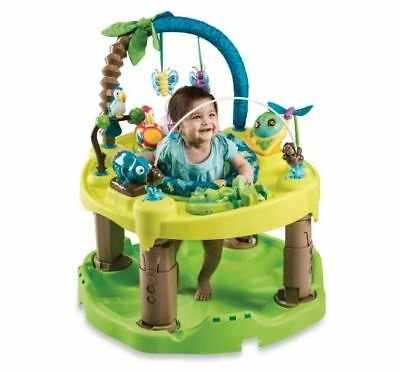 Evenflo ExerSaucer Triple Fun Life in the Amazon Baby Activity Learning Center