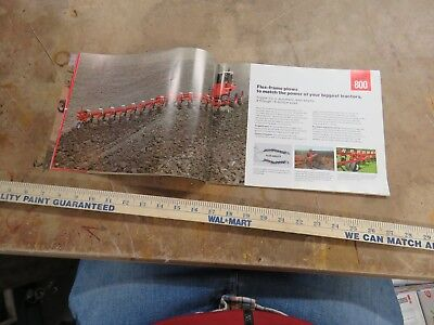 Vintage International Moldboard Plows brochure