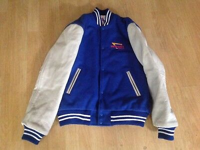 "Vtg.  Jacket ""sichel""  In-N-Out Varsity Letterman Size ""s"" Pre Owned"