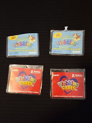 WEBKINZ CODES ONLY Lot of 4, 1 guaranteed Unused  Horse Terrier Feature code