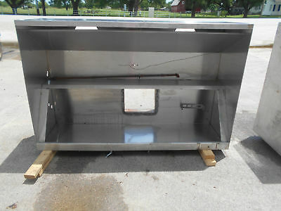 "72"" 6ft Commercial Vent Hood Restaurant Exhaust Hood System #2480"