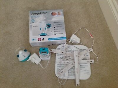 Angelcare AC401 Movement Sound BABY SAFETY MONITOR Sensor Pad BREATHING ALARM