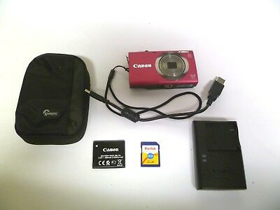 Canon Powershot A2300 16 megapixel HD digital camera and charger  Nice