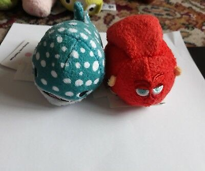 Disney Tsum Tsum Hank and Bailey from Finding Nemo Dory