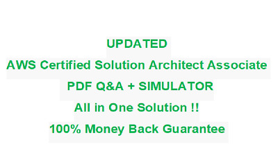 AWS certified Solution Architect Associate  Test PDF & Sim