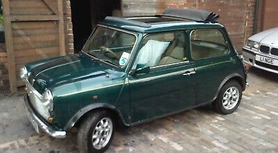 British open classic mini 1992 Barn find restoration project low mileage