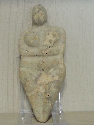Antique  Stone Figure statuette,Fertility figure,mother godess,Idol,god,alien