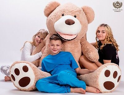 GIANT LARGE BIG HUGE TEDDY BEAR XXL 160cm 200cm 270cm 63'' BEIGE