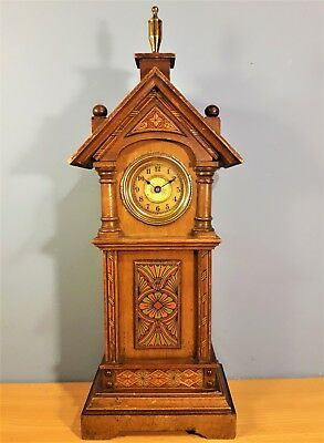 Vintage Miniature Grandfather Clock, working order